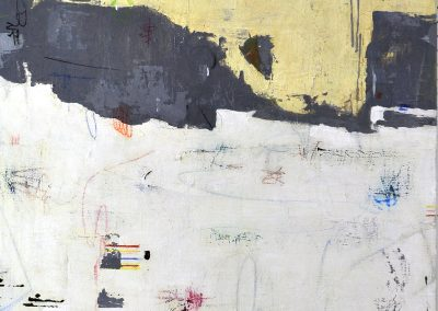 Shift by Julie Weaverling. 40x30. mixed media. Sold.