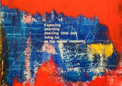 Exploring, by Julie Weaverling, with poetry by Elizabeth Weaverling