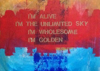 I'm Alive, by Julie Weaverling, with poetry by Elizabeth Weaverling