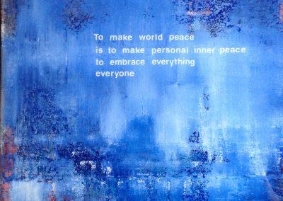 Peace, by Julie Weaverling, with poetry by Elizabeth Weaverling