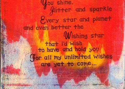 Wishing Star, by Julie Weaverling, with poetry by Elizabeth Weaverling